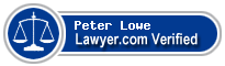 Peter D. Lowe  Lawyer Badge