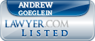 Andrew Goeglein Lawyer Badge