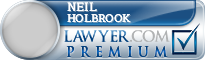 Neil Eugene Holbrook  Lawyer Badge