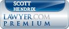 Scott R Hendrix  Lawyer Badge