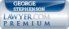 George William Stephenson  Lawyer Badge