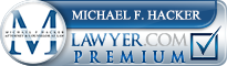 Michael F. Hacker  Lawyer Badge