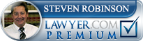 Steven Aaron Robinson  Lawyer Badge