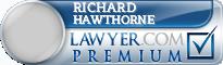Richard A. Hawthorne  Lawyer Badge