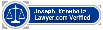 Joseph A. Kromholz  Lawyer Badge