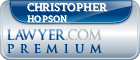 Christopher Paul Hopson  Lawyer Badge