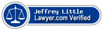 Jeffrey Paul Little  Lawyer Badge