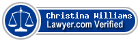 Christina L. Williams  Lawyer Badge