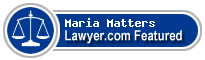 Maria Delores Matters  Lawyer Badge