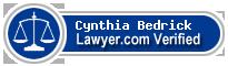 Cynthia Ann Bedrick  Lawyer Badge