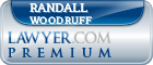 Randall Lee Woodruff  Lawyer Badge