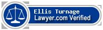 Ellis Turnage  Lawyer Badge
