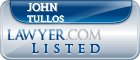 John Tullos Lawyer Badge