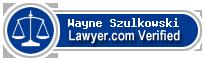 Wayne T. Szulkowski  Lawyer Badge
