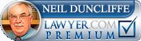 Neil Edward Duncliffe  Lawyer Badge