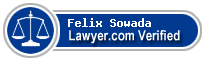 Felix Sowada  Lawyer Badge