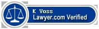 K Allan Voss  Lawyer Badge