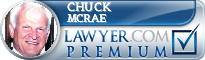 Chuck R. McRae  Lawyer Badge