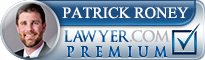 Patrick M. Roney  Lawyer Badge