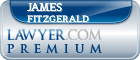 James E. Fitzgerald  Lawyer Badge