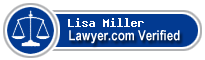 Lisa Miller  Lawyer Badge