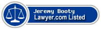 Jeremy Booty Lawyer Badge