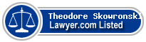 Theodore Skowronski Lawyer Badge