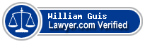 William B. Guis  Lawyer Badge