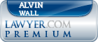 Alvin Raymond Wall  Lawyer Badge