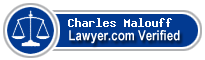 Charles John Malouff  Lawyer Badge