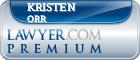 Kristen Kate Orr  Lawyer Badge
