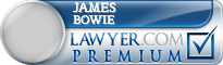 James M Bowie  Lawyer Badge