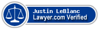 Justin D. LeBlanc  Lawyer Badge