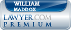 William S. Maddox  Lawyer Badge