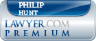 Philip C. Hunt  Lawyer Badge