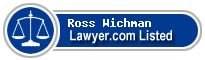 Ross Wichman Lawyer Badge
