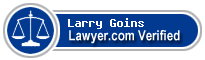 Larry Dale Goins  Lawyer Badge