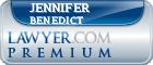 Jennifer Louise Benedict  Lawyer Badge