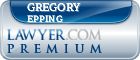 Gregory James Epping  Lawyer Badge