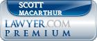 Scott D Macarthur  Lawyer Badge