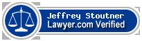 Jeffrey Boyd Stoutner  Lawyer Badge