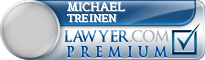 Michael Orin Treinen  Lawyer Badge