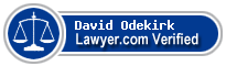 David Paul Odekirk  Lawyer Badge