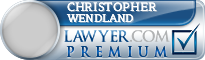 Christopher S. Wendland  Lawyer Badge