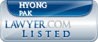 Hyong Pak Lawyer Badge