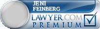 Jeni Feinberg  Lawyer Badge