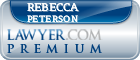 Rebecca L Peterson  Lawyer Badge
