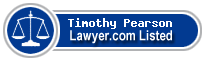 Timothy Pearson Lawyer Badge