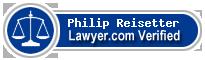 Philip M. Reisetter  Lawyer Badge