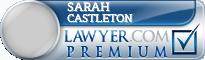 Sarah Castleton  Lawyer Badge